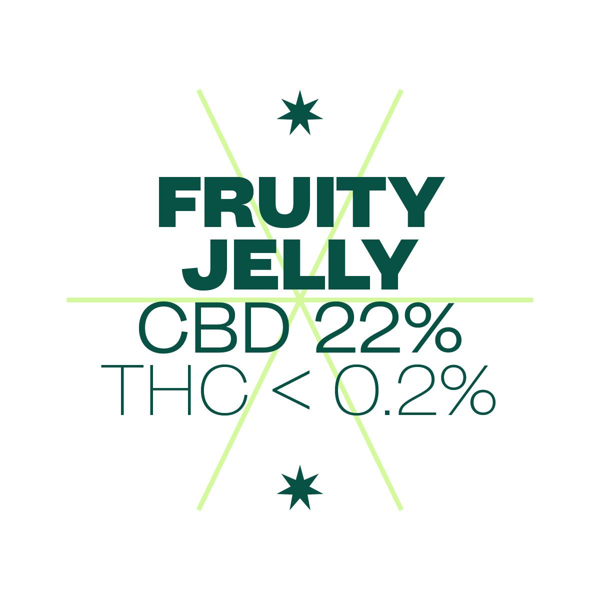 ligne verte bandeaux fruity jelly % site px px
