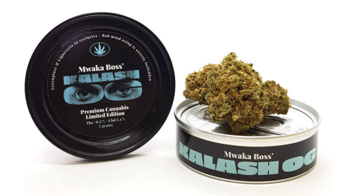 KALASH OG by Mwaka Boss Ligne Verte – CBD Products