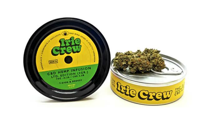 IRIE CREW [3gr Box] Ligne Verte – CBD Products