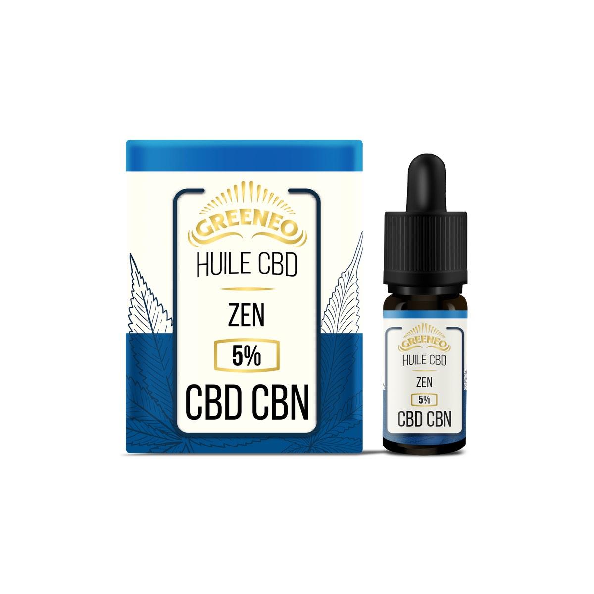 Huile CBD CBN Zen